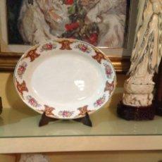 Antigüedades: ANTIGUA Y GRAN FUENTE DE HANLEY. ENGLAND. BANDEJA. Lote 248463570