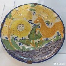 Oggetti Antichi: PAREJA DE PLATOS DE CERAMICA. Lote 248491550
