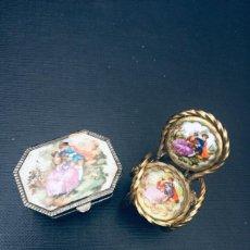 Antigüedades: MINIATURAS LIMOGES. Lote 248497485