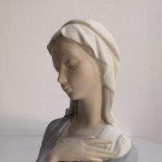 Antigüedades: BUSTO MADONNA VIRGEN MARÍA EN PORCELANA LLADRÓ. Lote 248590185