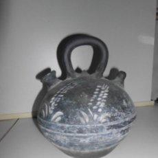 Antigüedades: BOTIJO DE CERÁMICA ROCA CAUS VERDÚ. Lote 248621495