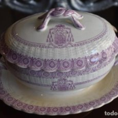 Antigüedades: MUY BONITA SALSERA DE PORCELANA. Lote 248685800