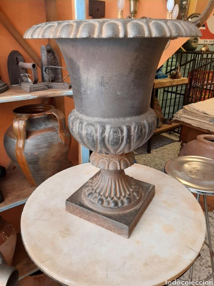 Antigüedades: Macetero - copa jardin antiguo - Foto 2 - 248688765