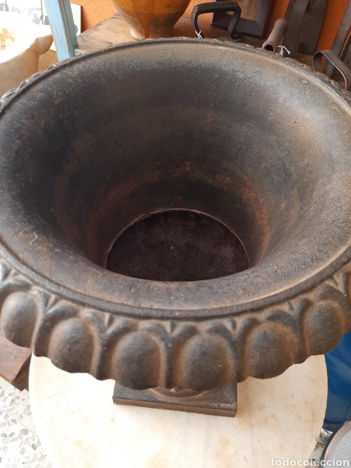 Antigüedades: Macetero - copa jardin antiguo - Foto 5 - 248688765