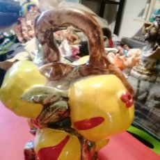 Antigüedades: BOTIJO MANISES GRANADAS MADURAS EN RAMA MANISES. Lote 248778015