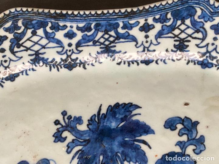 Antigüedades: CHINESE EXPORT PLATE PORCELAIN , 18th century , compañia de indias , porcelana china - Foto 11 - 248959365