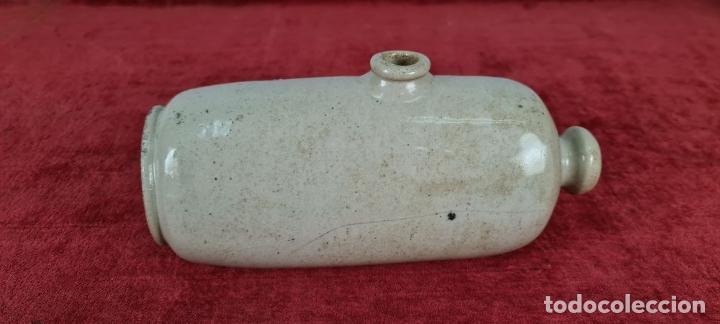 Antigüedades: BOTELLA DE AGUA CALIENTE. CERÁMICA ESMALTADA. HOLANDA ?. SIGLO XX. - Foto 6 - 248982565