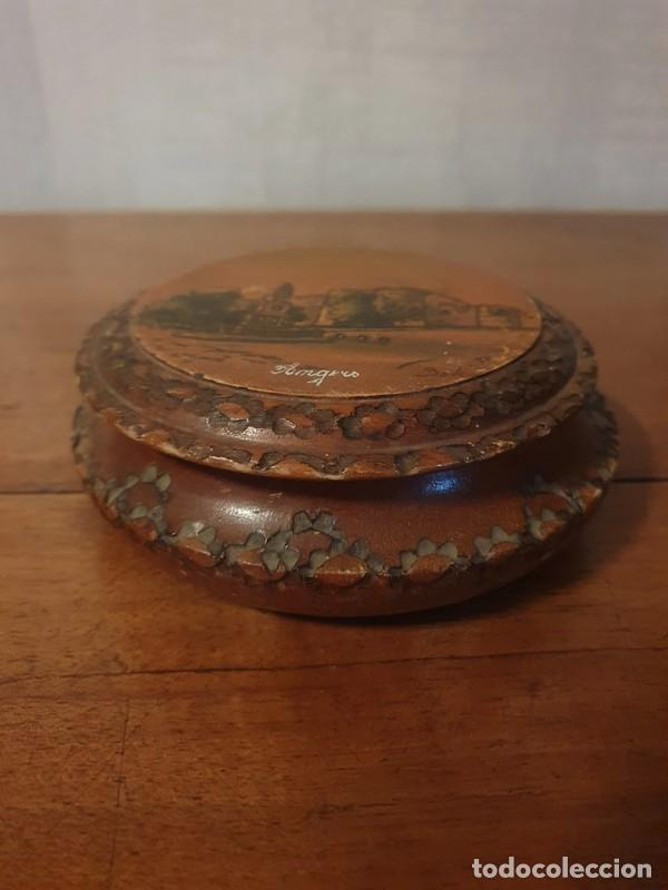 Antigüedades: Caja / joyas , tallada finales S.XIX por el artista Louis Bollinger (Boli) - Foto 5 - 249013735