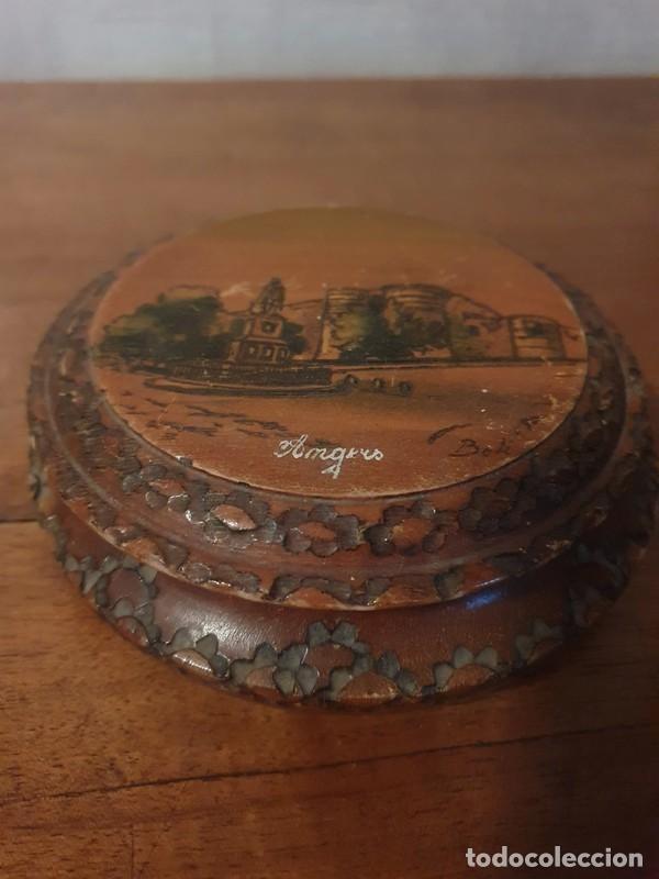 Antigüedades: Caja / joyas , tallada finales S.XIX por el artista Louis Bollinger (Boli) - Foto 2 - 249013735