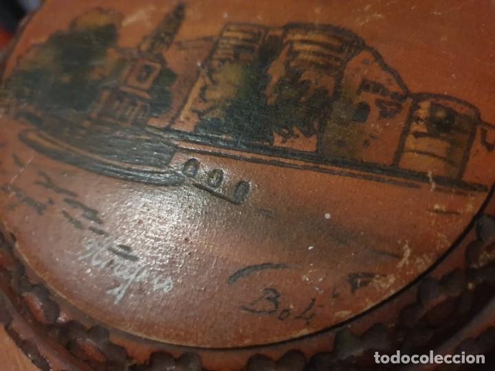 CAJA / JOYAS , TALLADA FINALES S.XIX POR EL ARTISTA LOUIS BOLLINGER (BOLI) (Antigüedades - Muebles Antiguos - Escritorios Antiguos)