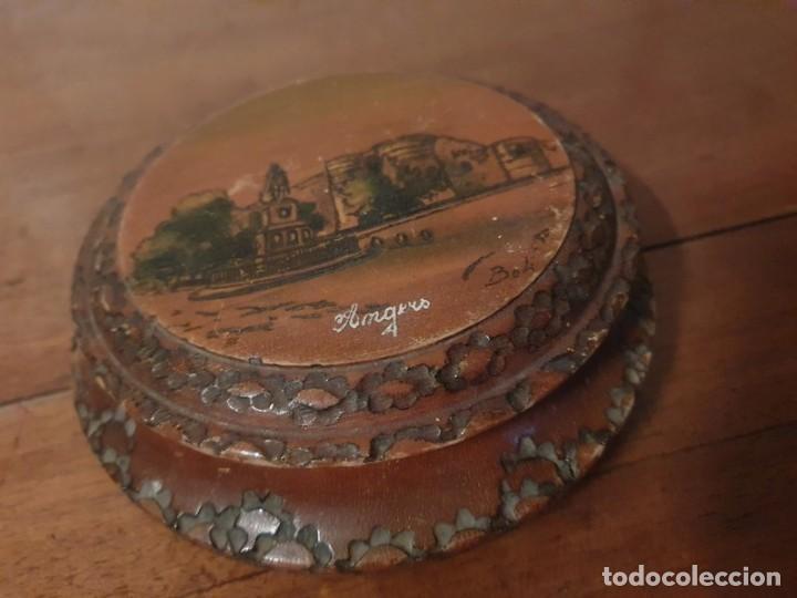 Antigüedades: Caja / joyas , tallada finales S.XIX por el artista Louis Bollinger (Boli) - Foto 4 - 249013735