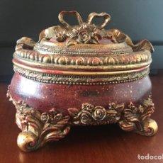 Antigüedades: ESPECTACULAR CAJA JOYERO. Lote 249030880