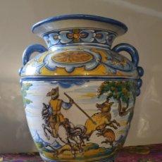 Antigüedades: ORZA/JARRON CERAMICA TALAVERA NIVEIRO. Lote 249129870