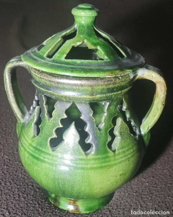 ANTIGUO JARRÓN INCENSARIO ÚBEDA (Antigüedades - Porcelanas y Cerámicas - Úbeda)