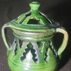Antigüedades: ANTIGUO JARRÓN INCENSARIO ÚBEDA. Lote 249164740