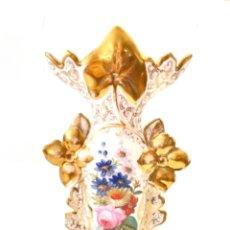 Antigüedades: ESTUPENDO JARRÓN VIEJO PARIS - S. XIX. Lote 249185640