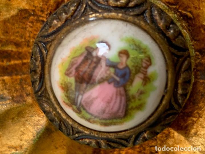 Antigüedades: Encantadora comoda o sifonier, policromada y con pomos de porcelana. en muy buen estado - Foto 5 - 249192375