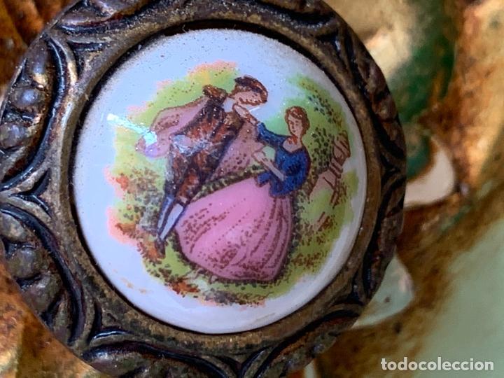 Antigüedades: Encantadora comoda o sifonier, policromada y con pomos de porcelana. en muy buen estado - Foto 7 - 249192375