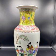 Antigüedades: JARRON DE PORCELANA CHINA. Lote 249276850