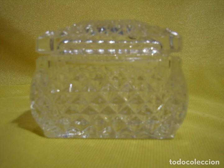 Antigüedades: Caja de cristal de Royal Cristal Rock Italia 24% PBO plomo, años 80, Nueva sin usar. - Foto 2 - 249288365
