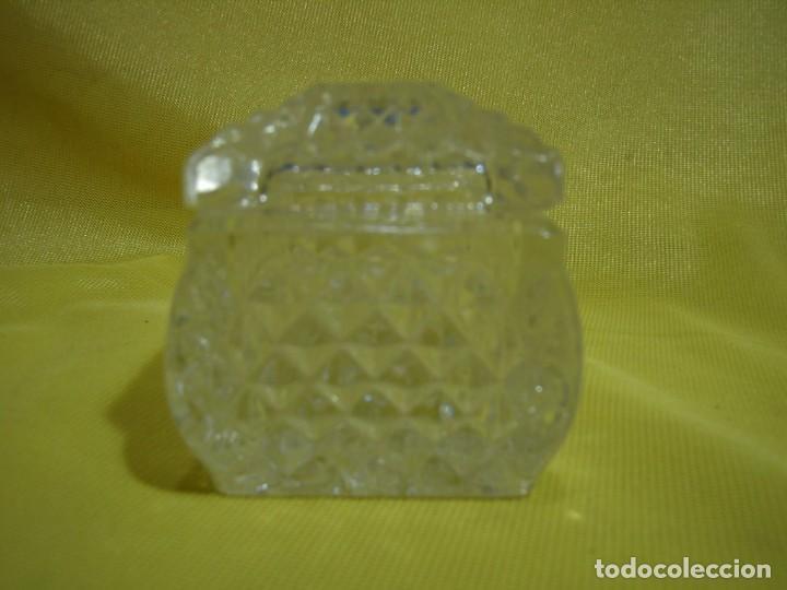 Antigüedades: Caja de cristal de Royal Cristal Rock Italia 24% PBO plomo, años 80, Nueva sin usar. - Foto 3 - 249288365