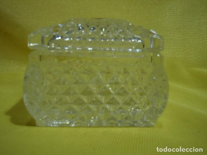 Antigüedades: Caja de cristal de Royal Cristal Rock Italia 24% PBO plomo, años 80, Nueva sin usar. - Foto 4 - 249288365