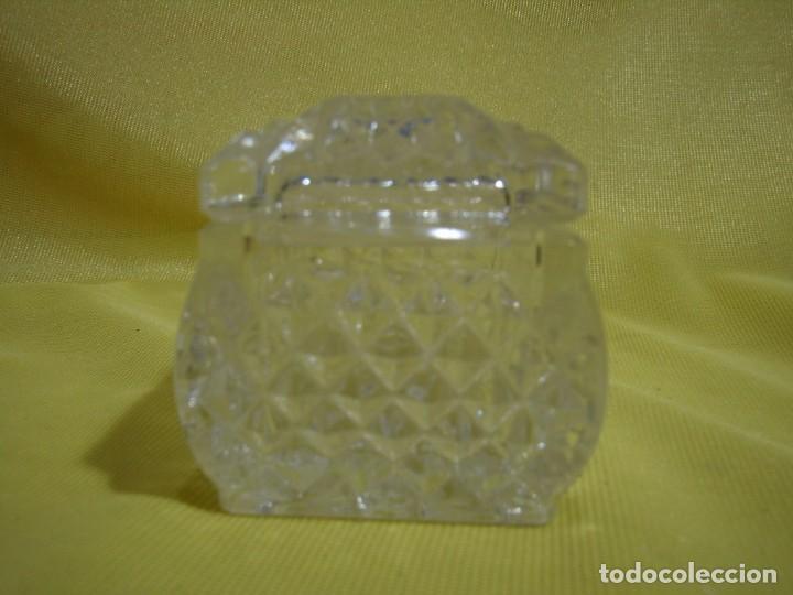 Antigüedades: Caja de cristal de Royal Cristal Rock Italia 24% PBO plomo, años 80, Nueva sin usar. - Foto 5 - 249288365