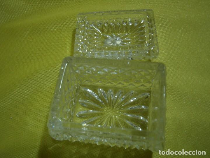 Antigüedades: Caja de cristal de Royal Cristal Rock Italia 24% PBO plomo, años 80, Nueva sin usar. - Foto 6 - 249288365