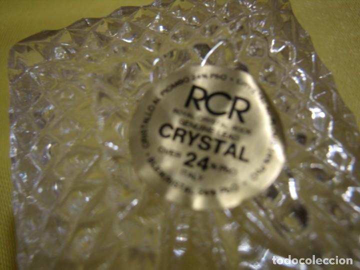 Antigüedades: Caja de cristal de Royal Cristal Rock Italia 24% PBO plomo, años 80, Nueva sin usar. - Foto 8 - 249288365