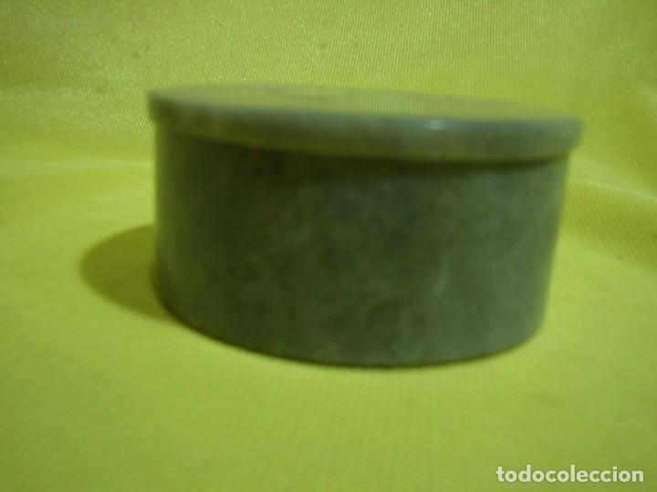 Antigüedades: Caja joyero mármol, decoración Nácar, años 90 - Foto 4 - 249296870