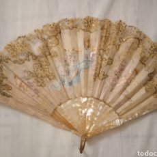 Antigüedades: ANTIGUO ABANICO DE SEDA. Lote 249396955