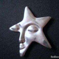 Antigüedades: BROCHE ESTRELLA - PLATA 925. Lote 249397205