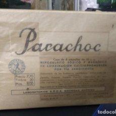 Antigüedades: PARACHOC ARGA BARCELONA. VITRINA CORREOS. Lote 249496800