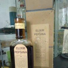 Antigüedades: ELIXIR PEPSINA GRIMAULT. VITRINA CORREOS. Lote 249496945