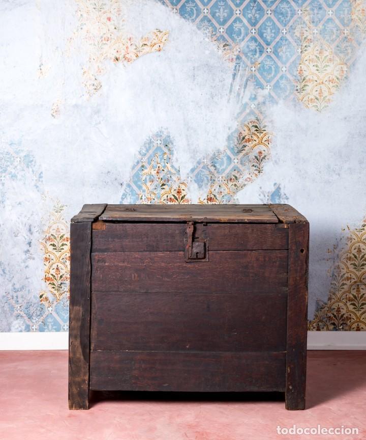 Antigüedades: Arcón Antiguo Siglo XVIII - Foto 2 - 249530995