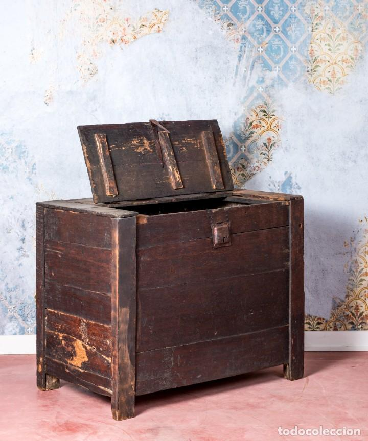 Antigüedades: Arcón Antiguo Siglo XVIII - Foto 3 - 249530995