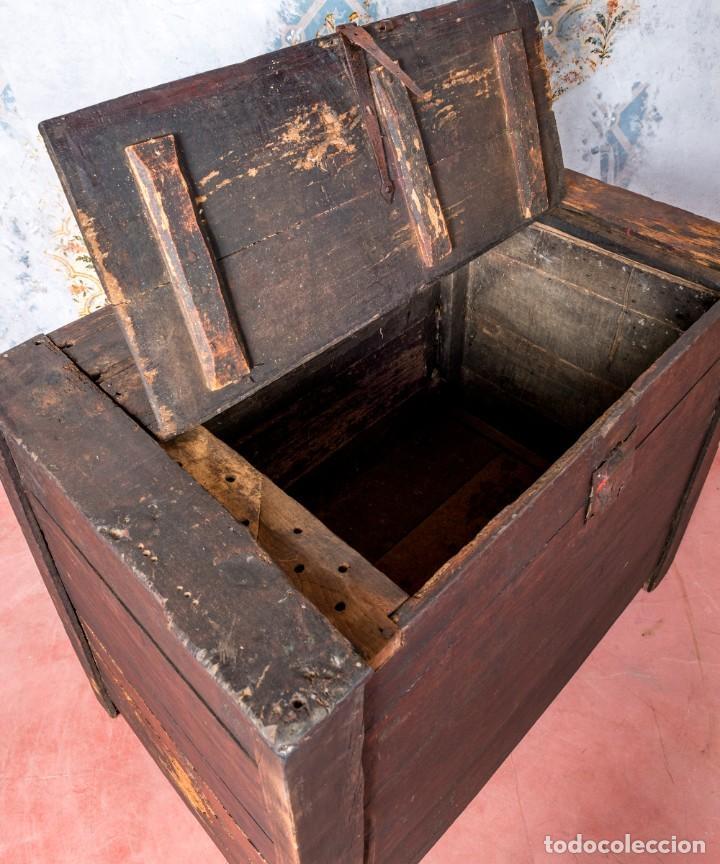 Antigüedades: Arcón Antiguo Siglo XVIII - Foto 4 - 249530995