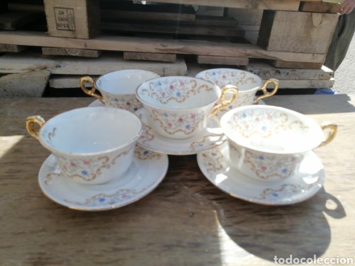 Antigüedades: Juego de cafe - Foto 2 - 249539035