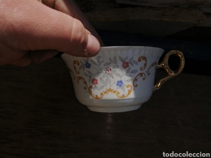 Antigüedades: Juego de cafe - Foto 3 - 249539035