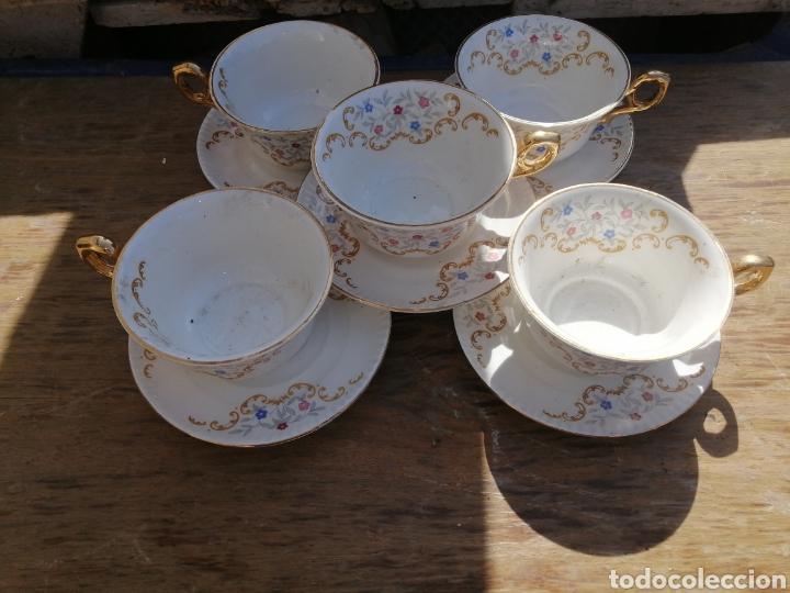 JUEGO DE CAFE (Antigüedades - Porcelanas y Cerámicas - San Claudio)