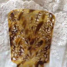 Antigüedades: PEINA PEINETA ANTIGUA BAQUELITA. Lote 250143195