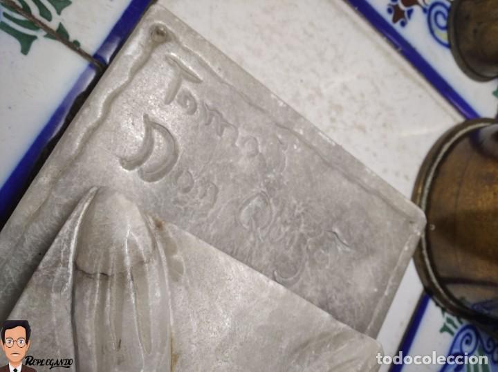 Antigüedades: ESCULTURAS DE DON QUIJOTE DE LA MANCHA Y SANCHO PANZA EN ALABASTRO (GRAN TAMAÑO) AÑOS 70 - Foto 30 - 250245865