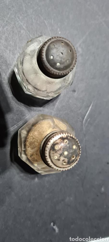 Antigüedades: Salero y pimentero antiguos con encanto. - Foto 7 - 250320390