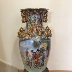 Antigüedades: JARRÓN CHINO ANTIGUO - GRAN TAMAÑO - 63 CMS. Lote 250320670
