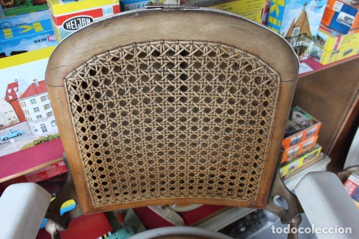 Antigüedades: Original Silla de Barbero marca Jaso - Foto 3 - 250330735