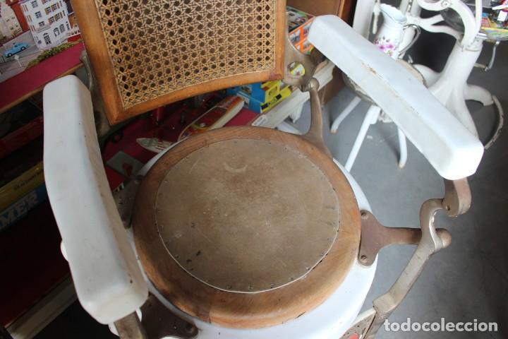 Antigüedades: Original Silla de Barbero marca Jaso - Foto 4 - 250330735