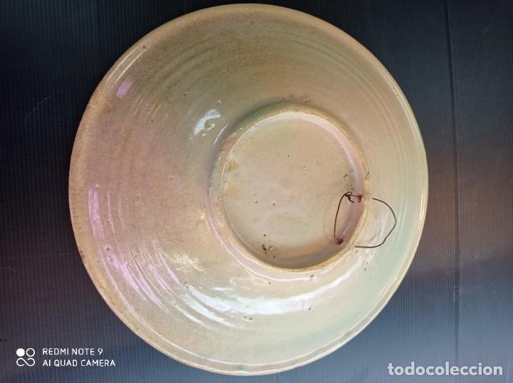 Antigüedades: Puente del arzobispo antiguo y espectacular plato hondo 31 cm diámetro - Foto 3 - 250342490