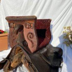 Antiquités: SILLA PARA MONTAR A CABALLOS. Lote 251046975