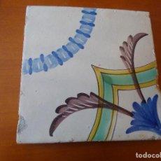 Antigüedades: PRECIOSA BALDOSA, DE CERAMICA CATALANA.. Lote 251122300