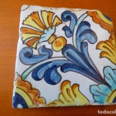 Antigüedades: PRECIOSA BALDOSA, DE CERAMICA CATALANA.. Lote 251123870